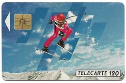 Telecarte 120 - XVIèmes J.O. D'hiver - Olympische Spelen