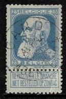 MW-2759   GAND       AGENCE N° 4       OCB 76 - 1905 Grosse Barbe