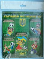 UKRAINE / The Collection Of Soft Magnets / Football.  At The EURO 2012 Meeting. - Sports