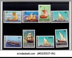 MALDIVES - 1978 SHIPS / SHIP - 8V -  MINT NH - Schiffe