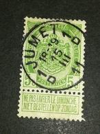 COB N ° 83 Oblitération 1D Jumet 1D 11 - 1893-1907 Armoiries