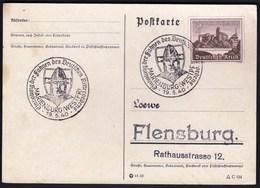 Germany Marienburg 1940 / Einholung Der Fahnen Des Deutschen Ritterordens - Cartas