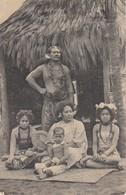 AK Die Samoaner - Fürst Tamasese Mit Gemahlin Vaainga Und Familie - Gebrüder Marquardt - 1910 (39953) - Samoa