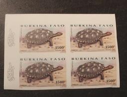 BLOC 4 TIMBRES  NON DENTELE  N°964 1995 Burkina Faso -NEUF - Burkina Faso (1984-...)