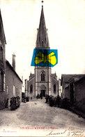 TOURS-sur-MARNE - L'Eglise - Carte Très Animée - France