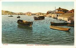 CARTAGENA BANOS DE SAN PEDRO ESPANA PHOTOCHROME 1900 - Murcia