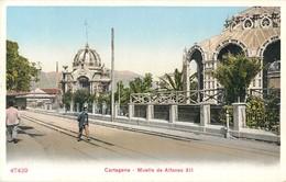 CARTAGENA MUELLE DE ALFONSO XII ESPANA PHOTOCHROME 1900 - Murcia