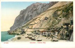 GIBRALTAR CATALAN BAY PHOTOCHROME 1900 - Gibraltar
