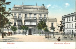 GIBRALTAR COMMERCIAL SQUARE J. FERRARY PHOTOCHROME 1900 - Gibraltar