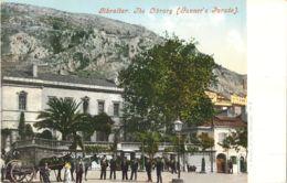 GIBRALTAR THE LIBRARY GUNNER'S PARADE J. FERRARY § COMPAGNY PHOTOCHROME 1900 - Gibraltar