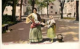GRANADA GITANOS DEL ALBAICIN GITAN FOLKLORE MUSIQUE COSTUME GITANO ESPANA PHOTOCHROME 1900 ESPAGNE - Granada