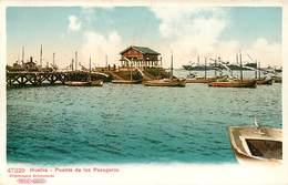 HUELVA PUENTE DE LOS PASAGEROS ESPANA PHOTOCHROME 1900 - Huelva