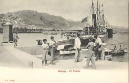 MALAGA EL PUERTO ESPANA 1900 - Málaga