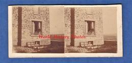 3 Photos Anciennes Stéréo Amateur - CHATILLON Sur MARNE - Maison Reconstruite Aprés Guerre - 1927 - Stereoscopic