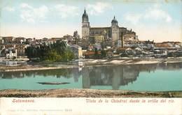 SALAMANCA VISTA DE LA CATEDRAL DESDE LA ORILLA DEL RIO ESPANA PHOTOCHROME 1900 ESPAGNE - Salamanca