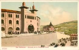 SAN SEBASTIAN ENTRADA DE LA PLAZA DE TOROS ESPANA PHOTOCHROME 1900 ESPAGNE - Guipúzcoa (San Sebastián)