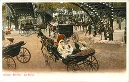 SEVILLA LA FERIA ESPANA PHOTOCHROME 1900 ESPAGNE - Sevilla