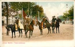 SEVILLA TIPOS ANDALUCES FOLKLORE ESPANA 1900 - Sevilla