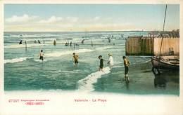 VALENCIA LA PLAYA ESPANA PHOTOCHROME 1900 ESPAGNE EINGETRAGENE SCHUTZMARJE - Valencia