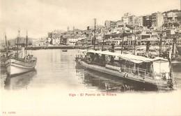 VIGO EL PUERTO DE LA RIBERA PONTEVEDRA ESPANA PHOTOCHROME 1900 ESPAGNE - Pontevedra