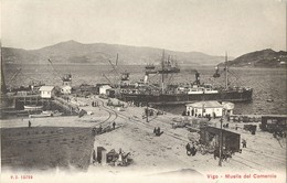 VIGO MUELLE DEL COMERCIO PONTEVEDRA ESPANA 1900 ESPAGNE - Pontevedra