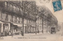 CPA - PARIS - Rue Des Pyrénées à La Rue De La Mare - Arrondissement: 20