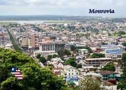 Liberia Monrovia Aerial View New Postcard - Liberia