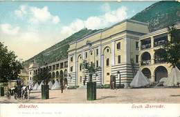 GIBRALTAR SOUTH BARRACKS J. FERRY § COMPAGNY PHOTOCHROME 1900 - Gibraltar