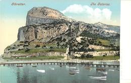 GIBRALTAR THE GALLERIES  J. FERRY § COMPAGNY PHOTOCHROME 1900 - Gibraltar