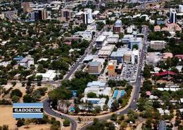 Botswana Gaborone Overview New Postcard - Botsuana