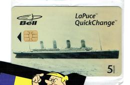 TELECARTES  PHONECARDS TITANIC BELL CANADA A MINT - Canada