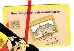 TELECARTES  PHONECARDS CROATIA MINT HRVATSKA ZAGREB - Croatie