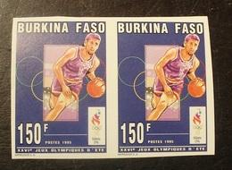 BLOC 2 TIMBRES  NON DENTELE  N°932  1995 Burkina Faso -NEUF - Burkina Faso (1984-...)