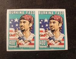 BLOC 2 TIMBRES  NON DENTELE  N°937 1995 Burkina Faso -NEUF - Burkina Faso (1984-...)