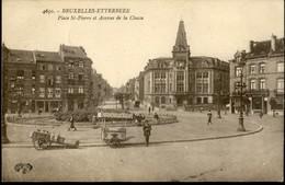 ETTERBEEK : Place St Pierre Et Av De La Chasse /    Marchand De Glaces Et Laitier - Etterbeek