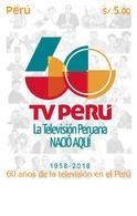 Peru 2019 60 Years Of Television In Peru - Peru