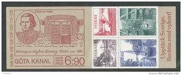 SUEDE 1979 - CARNET  YT C1047 - Facit H315 - Neuf ** MNH - Tourisme Canal Göta - 1951-80