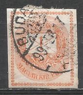 Hungary 1881. Scott #P4 (U) Letter With Crown And Post Horn ** - Newspapers
