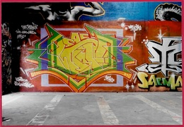 PHOTO Photographie TAG - STREET ART - GRAFFITI - ART URBAIN - Foto