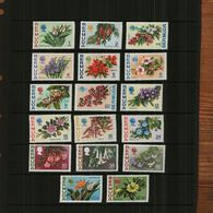 BERMUDA - 1970 - FLOWERS - 17 Stamps - MNH - Bermuda