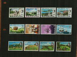 BERMUDA - 1971 - COMMS - 12 Stamps - MNH - Bermuda