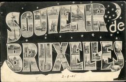 BRUXELLES :   Souvenir De Bruxelles - Monuments, édifices