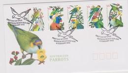 Australia 2005 Australian Parrots  Self Adhesive,FDC ,A - FDC