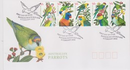Australia 2005 Australian Parrots FDC ,A - FDC