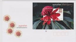 Australia 2006 Australian Wildflowers,Waratah,miniature Sheet FDC ,A - FDC