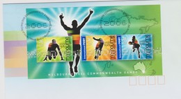 Australia 2006 Melbourne Commonwealth Games,miniature Sheet, FDC ,A - FDC