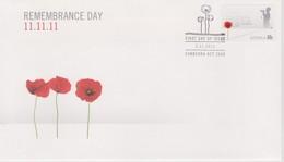 Australia 2011 Remembrance Day, Self Adhesive,FDC ,A - FDC