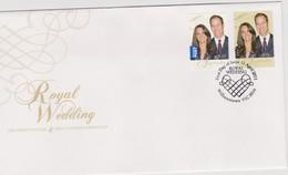 Australia 2011 Royal Wedding, FDC ,A - FDC