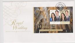 Australia 2011 Royal Wedding,miniature Sheet, FDC ,A - FDC