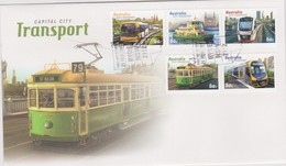 Australia 2012 Transport, FDC ,A - FDC